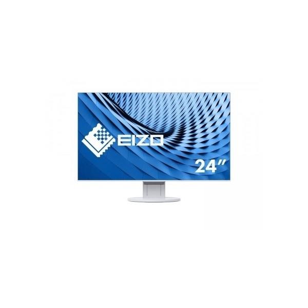 "EIZO Monitor LCD 23.8"" EV2451-WT, Wide (16:9), IPS, LED, FlexStand 4, biały."