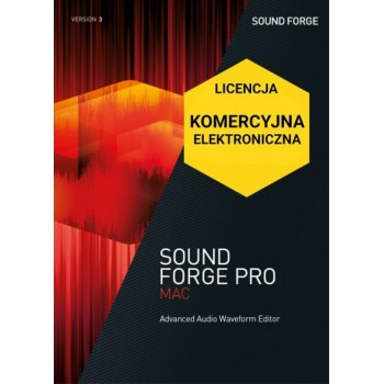Sound Forge Pro Mac 3 ESD