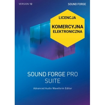 Sound Forge Pro 12 Suite ESD Upgrade