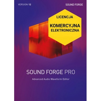 Sound Forge Pro 12 ESD Upgrade
