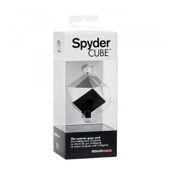 Datacolor SpyderCube - uniwersalny wzorzec bieli i czerni do korekty ekspozycji zdjęcia