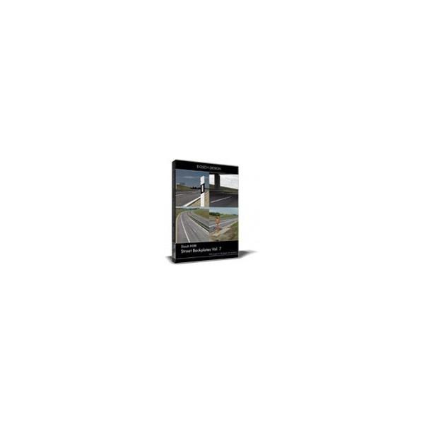 DOSCH HDRI: Street Backplates Vol. 7