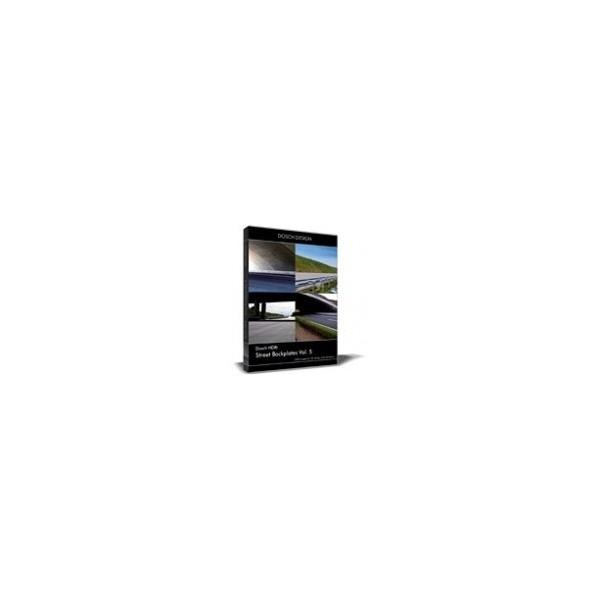 DOSCH HDRI: Street Backplates Vol. 5