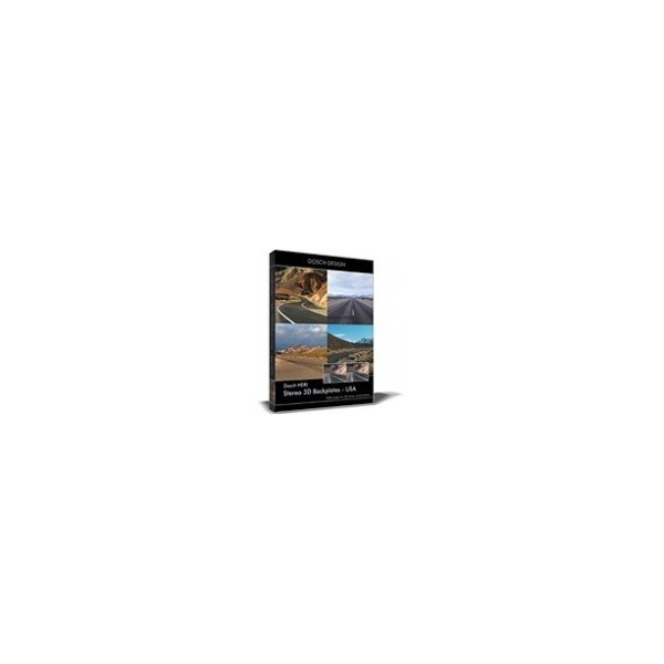 DOSCH HDRI: Stereo 3D Backplates - USA