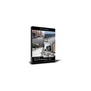 DOSCH HDRI: Stereo 3D Backplates - Asia