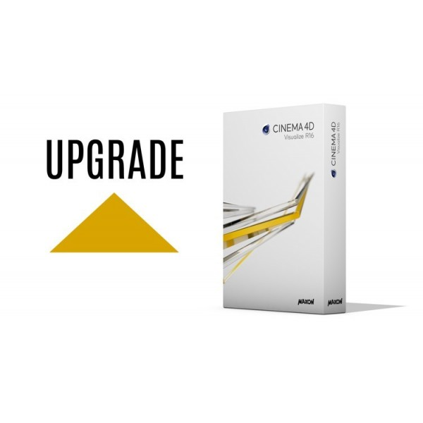 Upgrade Cinema 4D Visualize R16 z C4D Prime R15 WIN/MAC