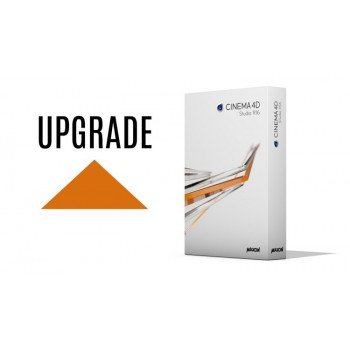 Upgrade Cinema 4D Studio R16 z C4D Broadcast R16 WIN/MAC