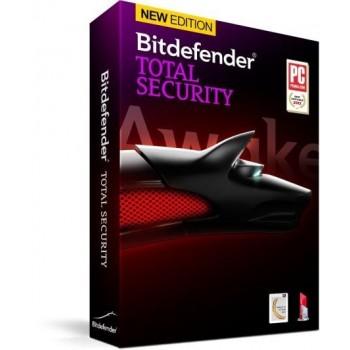 Bitdefender Total Security 2lata/10PC - lic. elektroniczna
