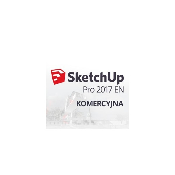 SketchUp Pro 2018 (EN, WIN/MAC, BOX) + subskrypcja 1 rok