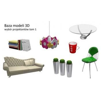 Baza modeli 3D - wybór projektantów tom 1