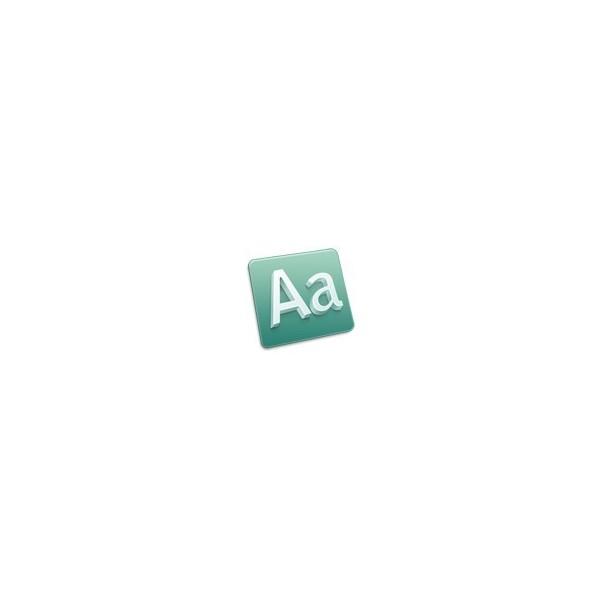 Font Kit - MAC