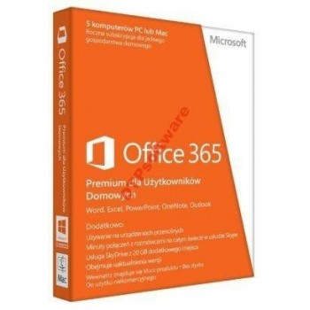 Microsoft Office 365 Home Premium 1 rok