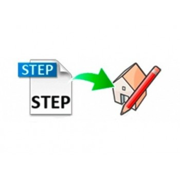 STEP importer for SketchUp (EN, WIN/MAC, LIC)