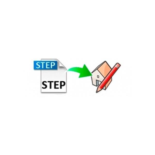 STEP importer for SketchUp (EN, WIN/MAC, LIC)