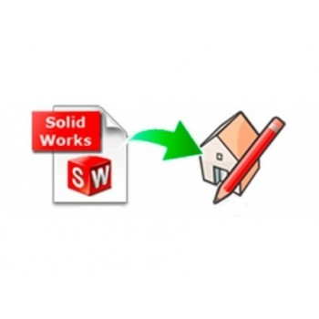 SolidWorks importer for SketchUp (EN, WIN, LIC)