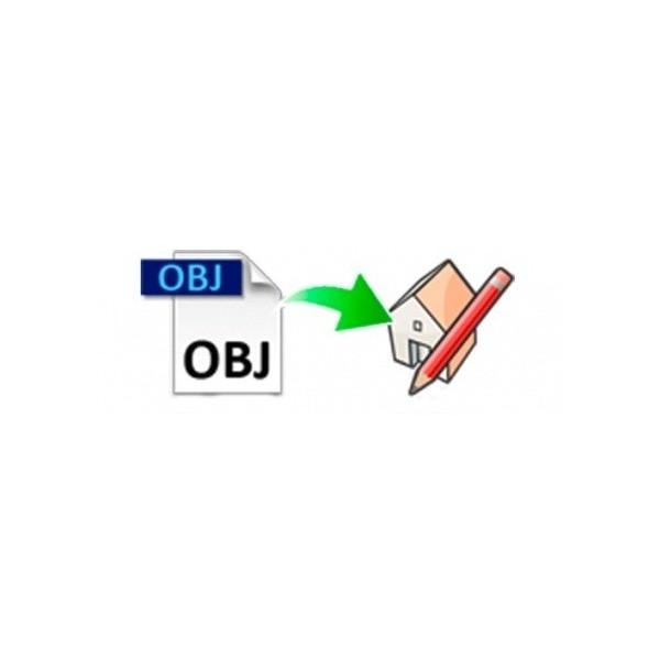 OBJ importer for SketchUp (EN, WIN/MAC, LIC)