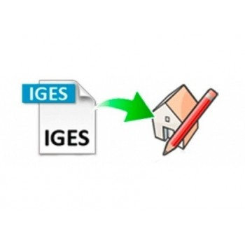 IGES importer for SketchUp (EN, WIN/MAC, LIC)