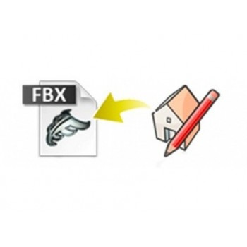 FBX exporter for SketchUp (EN, WIN/MAC, LIC)