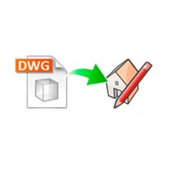 DWG importer for SketchUp (EN, WIN/MAC, LIC)