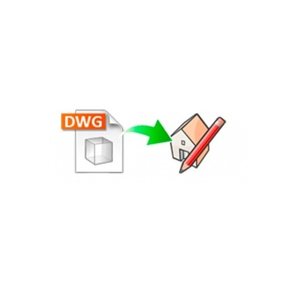 DWG importer for SketchUp (EN, WIN/MAC, LIC)
