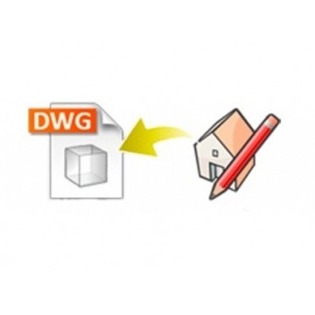 DWG exporter for SketchUp (EN, WIN/MAC, LIC)
