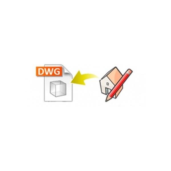 DWG exporter for SketchUp (EN, WIN/MAC, LIC)