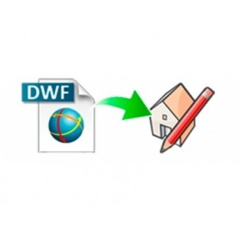 DWF importer for SketchUp (EN, WIN, LIC)