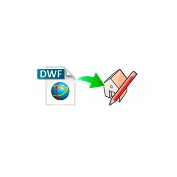 DWF importer for SketchUp (EN, WIN, LIC)