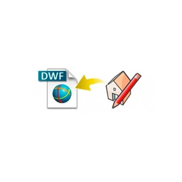 DWF exporter for SketchUp (EN, WIN, LIC)