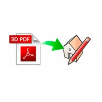3D PDF importer for SketchUp (EN, WIN, LIC)