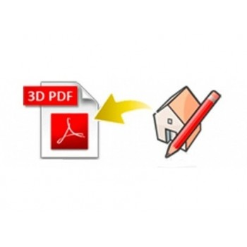 3D PDF exporter for SketchUp (EN, WIN/MAC, LIC)