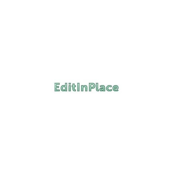 EditInPlace (EN, WIN/MAC, LIC)