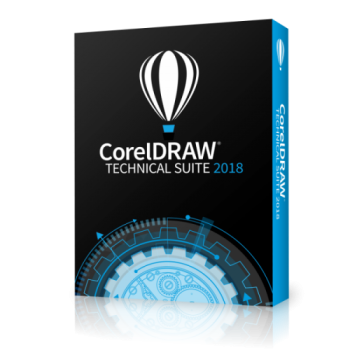 CorelDRAW Technical Suite 2018 BOX ENG