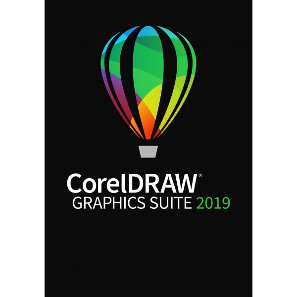 CorelDRAW Graphics Suite 2019 Upgrade BOX PL