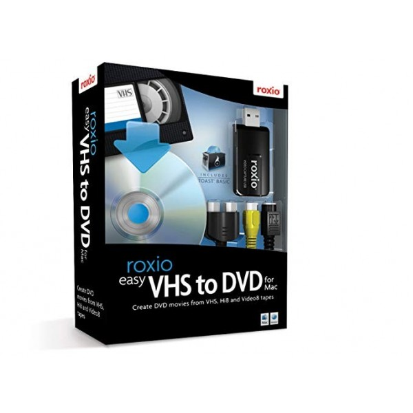 Roxio Easy VHS to DVD for Mac BOX ENG