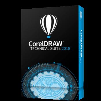 Corel Draw Technical Suite 2018 ENG WIN - SUBSKRYPCJA - 1 rok - lic. Elektroniczna