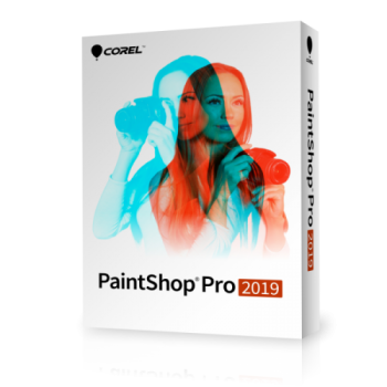Corel PaintShop PRO 2019 EN Win - UPGRADE - elektroniczna
