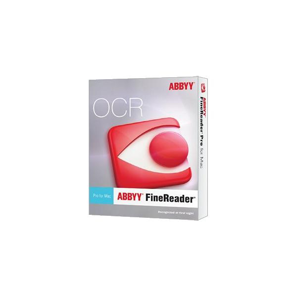 ABBYY FineReader Pro for Mac ESD