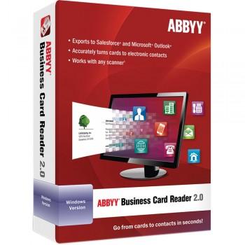 ABBYY Business Card Reader 2.0- Wersja elektroniczna
