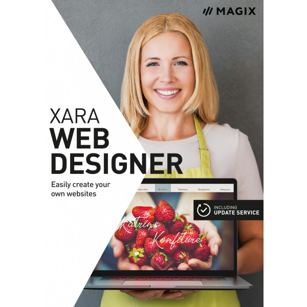 MAGIX Web Designer - Box - EN
