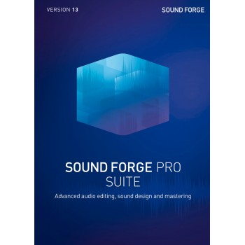 SOUND FORGE Pro 13 Suite - ESD - cyfrowa