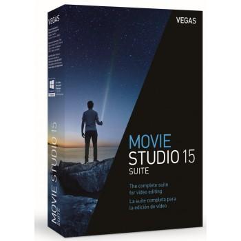 VEGAS Movie Studio 15 Suite - Box - GER/POL
