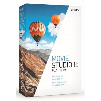 VEGAS Movie Studio 15 Platinum - Box - GER/POL