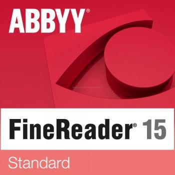 ABBYY FineReader 15 Standard (wersja jednostanowiskowa) Elektroniczna