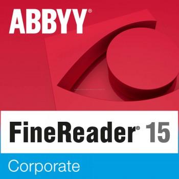 ABBYY FineReader 15 Corporate (pojedynczy użytkownik) licencja wieczysta