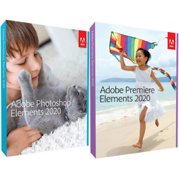 Adobe Photoshop & Premiere Elements 2020 WIN/MAC ENG UPG