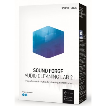 SOUND FORGE Audio Cleaning Lab 2 Box