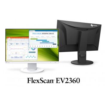 """EIZO EV2360-BK - monitor LCD 22,5"""" z regulowaną stopką (czarny)"""