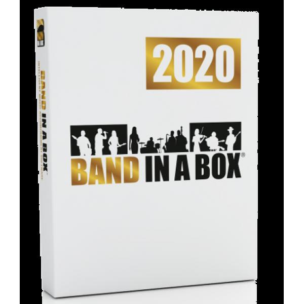 PG Music Band-in-a-Box Pro 2020 PL dla Windows BOX