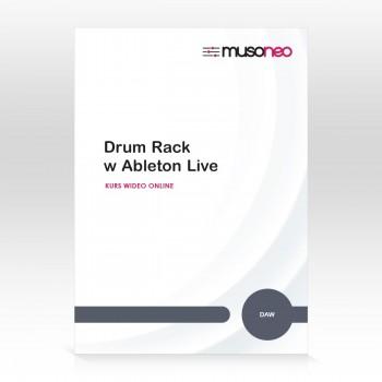 Musoneo - Drum Rack w Ableton Live 9 - Kurs video PL (wersja elektroniczna)